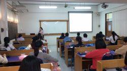 """การบรรยายพิเศษ เรื่อง """"การประกันคุณภาพการศึกษา"""" ในรายวิชา รายวิชาการจัดการชั้นเรียนและสิ่งแวดล้อมเพื่อการเรียนรู้"""