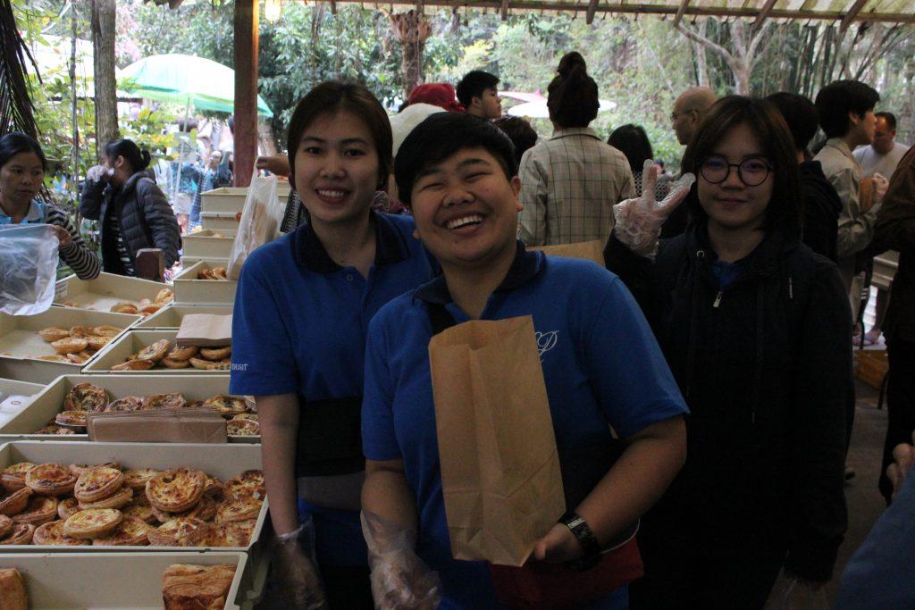 นักศึกษาสาขาอาหารฯศึกษาดูงานด้านอาหารและการบริการ ณ จังหวัดเชียงใหม่