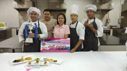 นักศึกษา ศูนย์ฯลำปาง คว้ารางวัลจากการแข่งขันการประกอบอาหารแนวใหม่ : Fusion Food